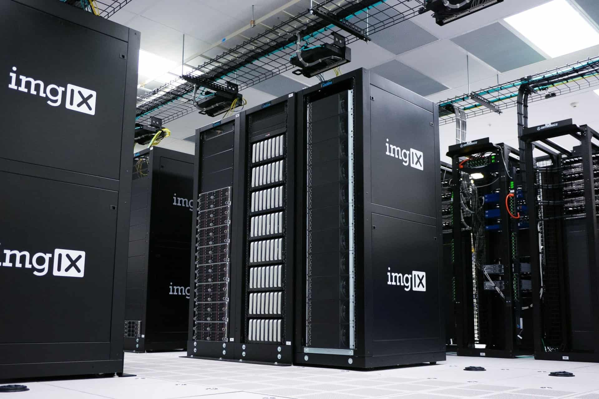 business computer servers being protected by multilayer firewall